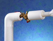 standard valve suitable for NoSweat Valve Wraps - uncovered